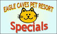 Eagle Caves Pet Resort Specials